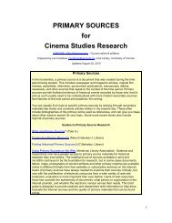 Hollywood and the Production Code (on microfilm) - University of ...