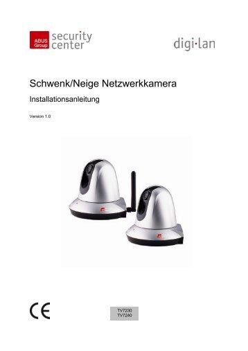 Schwenk/Neige Netzwerkkamera - ELV