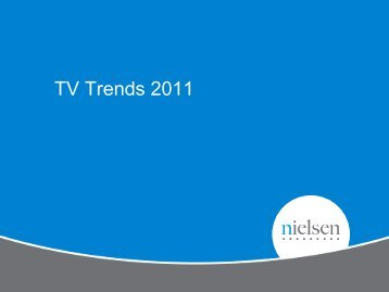 TV Trends 2011 - ThinkTV