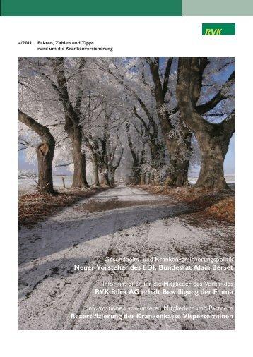 INFORMATION Dezember 2011 - RVK