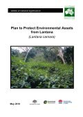 Plan to Protect Environmental Assets from Lantana - Weeds Australia - Page 2