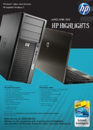 HP HigHligHts