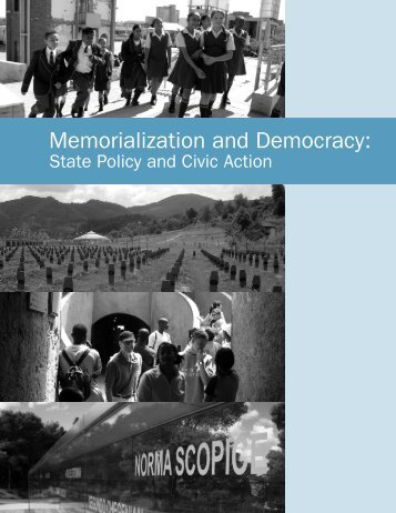 Memorialization and Democracy: - Swisspeace