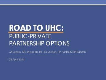 AM_HO_PPP Options Presentation - 28 April-3