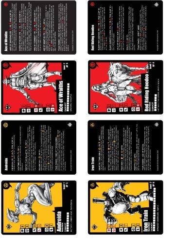 Pulp City Starter Cards