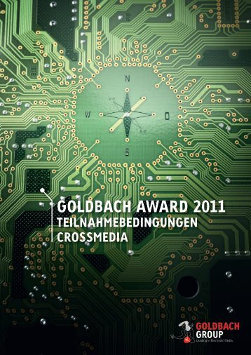 Goldbach award 2011 - Goldbach Group