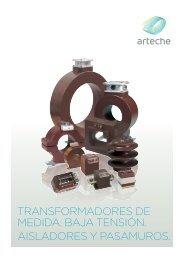 transformadores de medida baja tension interior