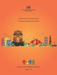 Delhi State Annual Report 2011 - CII
