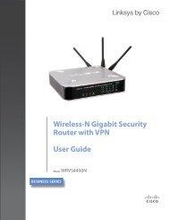 Cisco WRVS4400N Wireless-N Gigabit Security Router with - Ergotron