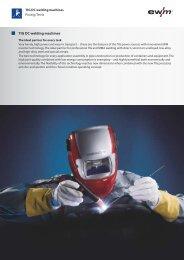TIG DC welding machines - Ewm-sales.co.uk