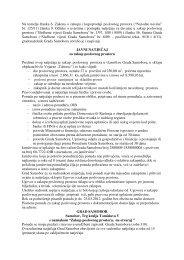 Javni natječaj za zakup poslovnog prostora - Samobor
