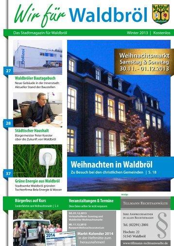Weihnachten in Waldbröl - Stadt Waldbröl