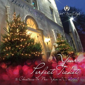 Christmas Brochure Now online! - Hotel Van Dyk