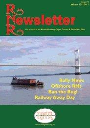 Issue 72, Winter 2011/2012 - Russell Newbery Register