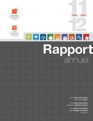 Rapport Annuel 2011-2012 - Centre québécois de services aux ...