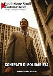 Contratto di solidarietà - Consulenti del Lavoro