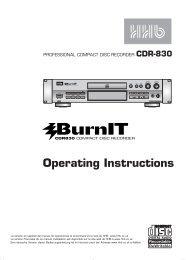 HHB CDR830 | PDF - SRTalumni.com