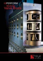 Modular Valve Block - Heye International
