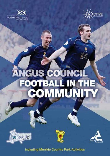 Angus Football in the Community - Angus Council