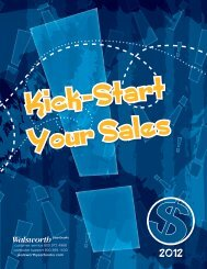 Get Kick-start Your Sales - Walsworth Yearbooks
