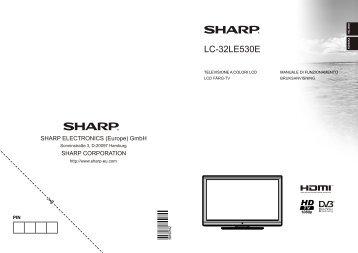 LC-32LE530E Operation-Manual SE - Sharp