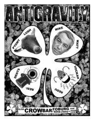 March 2011 (PDF) - Antigravity Magazine