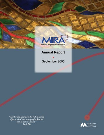 Annual Report (2005) - Maricopa Community Colleges