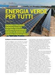 ENERGIA VERDE PER TUTTI - TXTmagazine