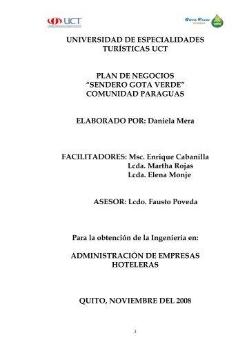 sendero gota verde.pdf - Repositorio Digital UCT - Universidad de ...