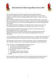 Bericht als pdf - Freiwillige Feuerwehr Kiel - Russee