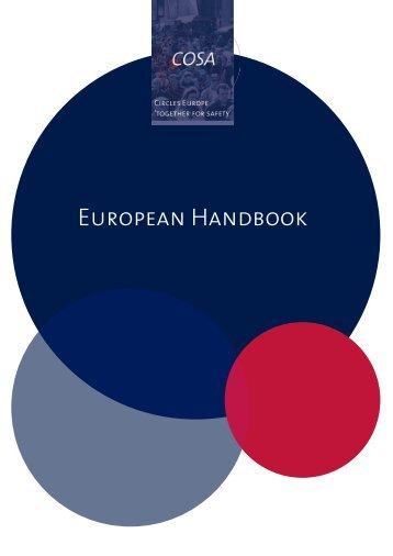 European Handbook - CEP, the European Organisation for Probation