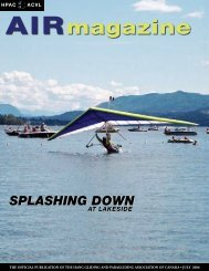2006-07 - Hang Gliding and Paragliding Association of Canada