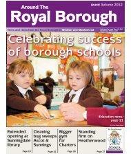 ATRB Autumn 2012 (PDF 9.7MB) - The Royal Borough of Windsor ...