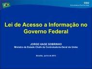 Apresentação CJF - LAI no Gov Federal.pdf - Conselho da Justiça ...