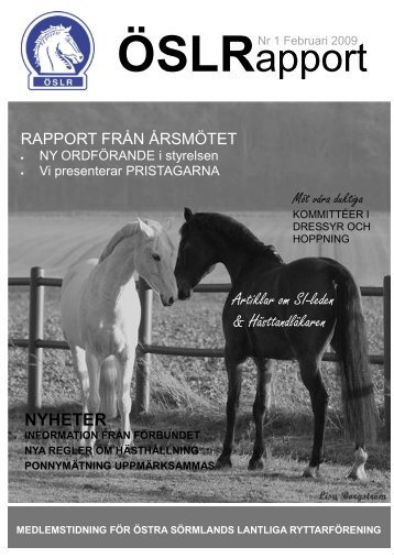 Tidning 1 2009 - IdrottOnline Klubb