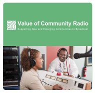 Value of Community Radio - National Ethnic and Multicultural ...