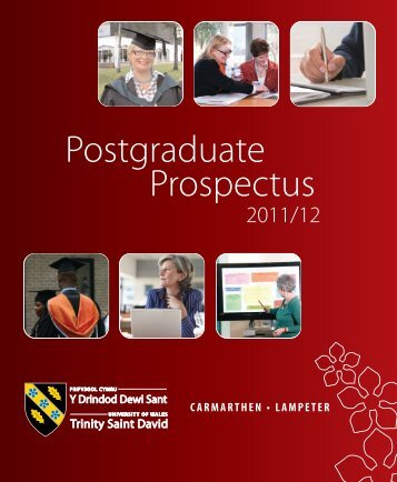 Postgraduate Prospectus - Study in the UK