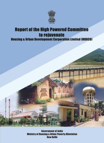 Ashok Jha Committee Report To Rejuvenate HUDCO - Ministry of ...