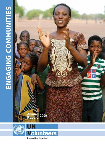 UNV Annual Report 2009 - United Nations Volunteers