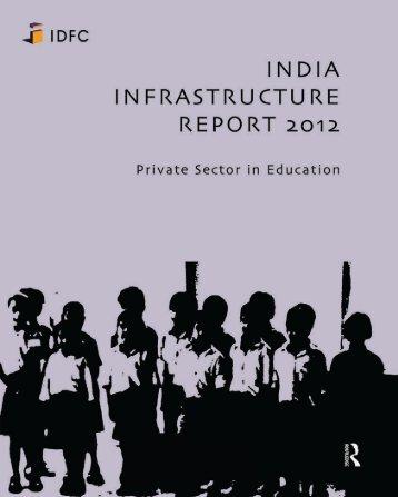 India Infrastructure Report - IDFC