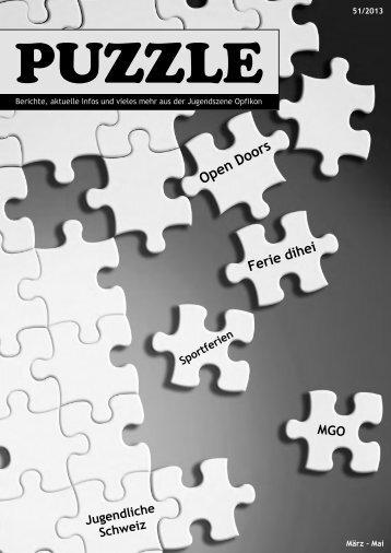 aktuelle Ausgabe - Jugendarbeit Opfikon