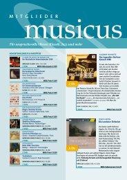 Für anspruchsvolle Ohren: Klassik, Jazz und mehr - WBG