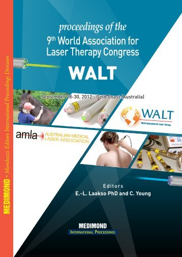 proceedings of the 9th World Association for Laser Therapy Congress