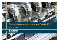 Global Automation Industry Study 2015