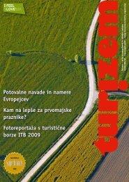 Potovalne navade in namere Evropejcev Kam na lepše za - Slovenia