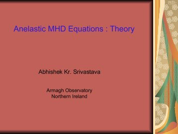 Theory - PDF format - Armagh Observatory
