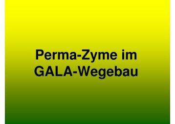 Einbau von Perma-Zyme