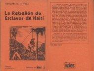 Ediciones del IDES Nº 2, La rebelión de esclavos de Haití.