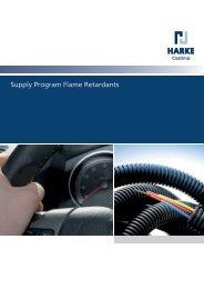 Supply Program Flame Retardants - HARKE Group