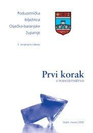 Poduzetnička bilježnica Osječko-baranjske županije